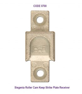 siegenia Rollers Keep Plate Receiver Strike roller Cam door receiver
