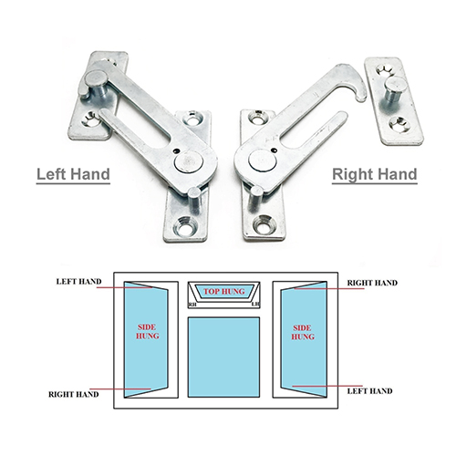 UPVC WINDOW RESTRICTOR. CHILD LOCK RESTRICTOR SAFETY CATCH These child safety catches keep children safe, and prevents them from falling out of open windows. These restrictors fit inside 'euro groove' opening channel on uPVC windows. It can be released to facilitate full opening of the window, it automatically re-engages restricted position on closing of the window.