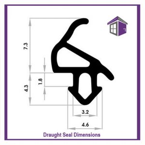 This uPVC window seal is universal but do check the measurements, as it does fit most windows but not all. We cannot accept returns of window seals gaskets due to being cut to customers.