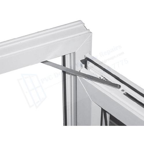 UPVC DOOR RESTRICTOR - restricts doors from opening too far in windy weather