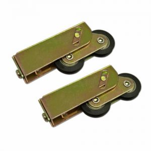 High Rise Patio Rollers, Rollers for Sliding Patio Doors. Low to High Line Tandem Patio Rollers - this wheel provides an adjustable steel carriage with a pair of 32mm Diameter