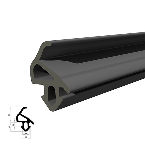 Double Glazing UPVC Door seals and UPVC Window seals to fit most types of PVC door and window frames, our seals are flipper types as enclosed, but we can order bubble gaskets and seals also