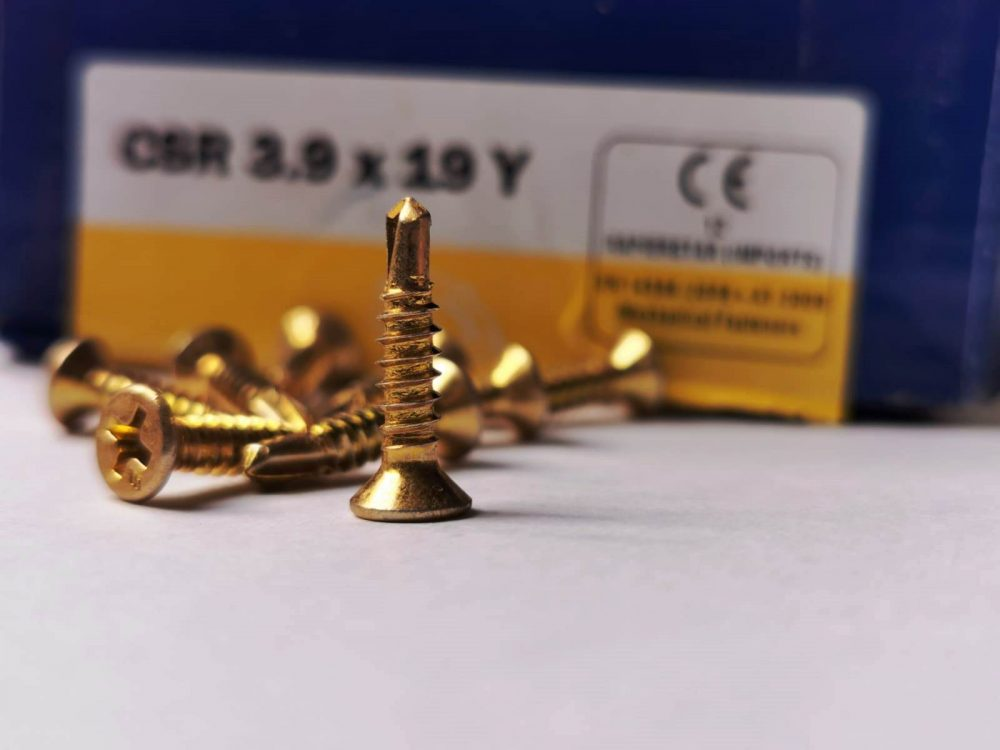 Self Tapping Self drilling window screws StarPVCu screws