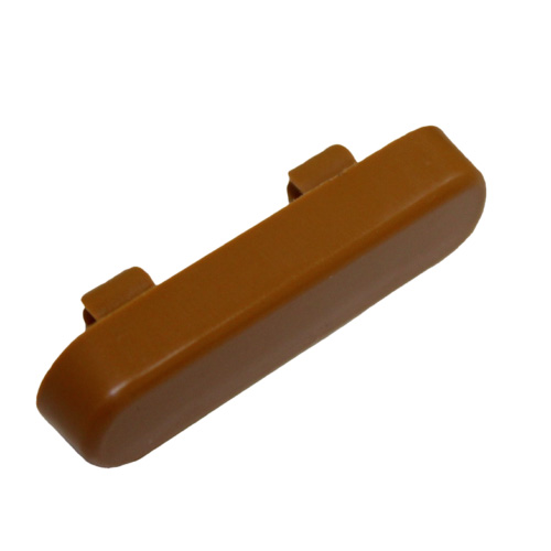 Tan Pvc Window Drain Caps Weep Hole Drainage Covers uPvc Double Glazing, comes in : white, brown, tan and black