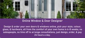 Dream door designer. Online door designer design your doors and windows online and order online