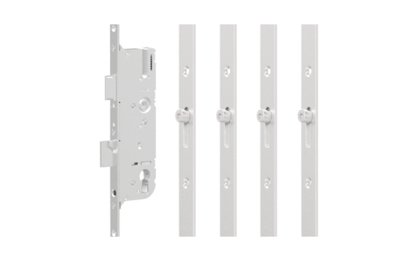 GU SECURY EUROPA R4 LEVER OPERATED LATCH & DEADBOLT SPLIT SPINDLE – 4 ROLLER – 35/92, the rod on the side of the door that slides up and down when you lift the handle, door locking rod, rod on side of door to lock, bar in the door frame to lock the door with the handle, door mutlipoint locking mechanism. door espag, locking mechanism, doorl ock, the metal strip that moved up and down in the door by the handle