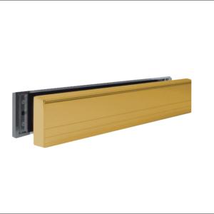 MILA Slim Master UPVC Letter Box 36-70 - 316mm Wide gold