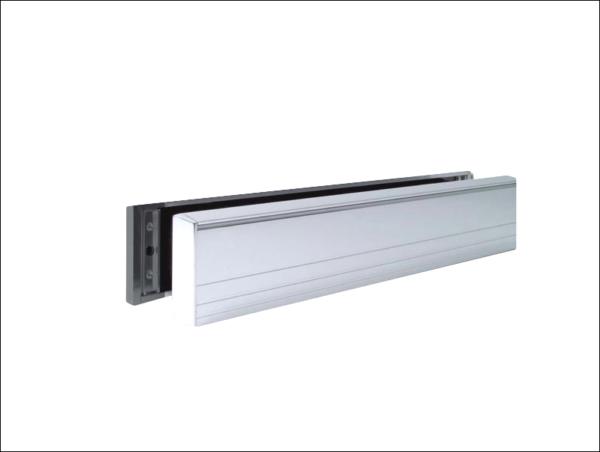 MILA Slim Master UPVC Letter Box 36-70 - 316mm Wide white