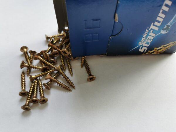 pvc window and door fixture screws 4.0mm x 25mm