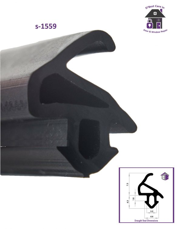 s-1559 window door draft seal keep draughts out of your home, seals and window rubber gaskets help to stop cold air coming in windows