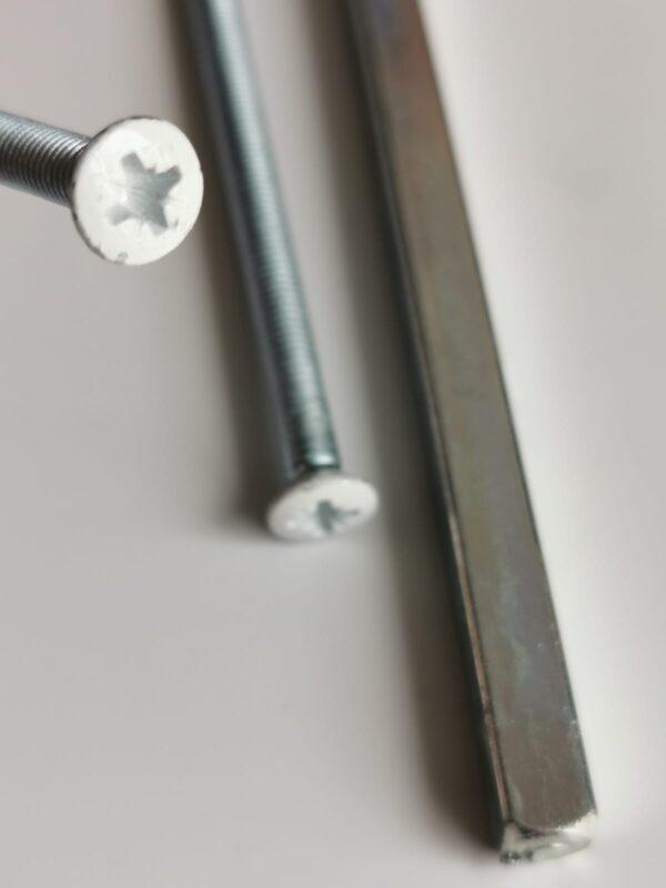 buy Door Handle M5 Bolt Replacement Upvc Handle Screws White Head online in ireland