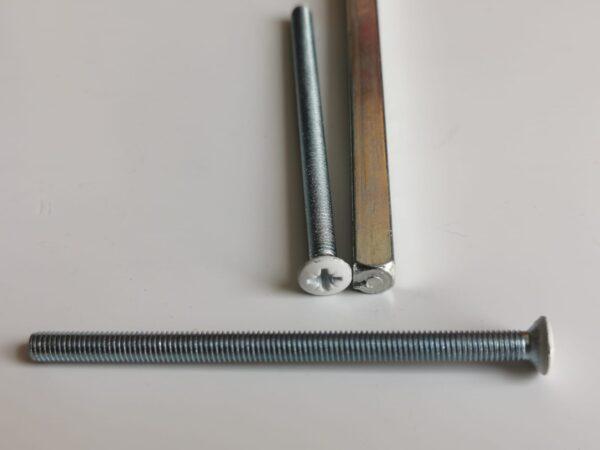 buy Replacement M5 Screws For Upvc Door Handles in White
