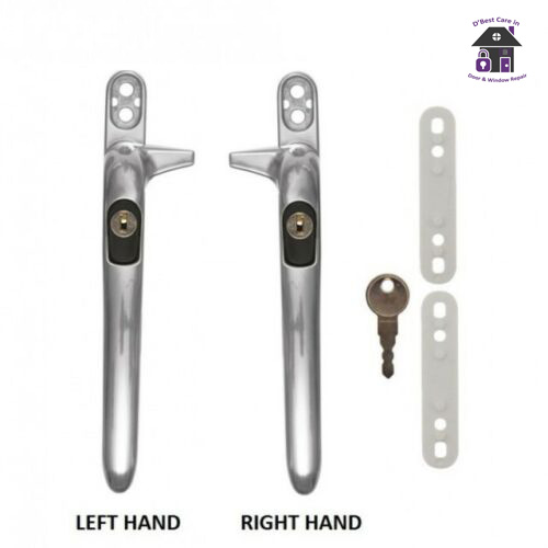 the window handles with the nose, or piece to the side Where can i get easyfit cockspur window handles with mutlisteps online in ireland chrome