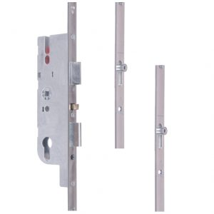 best place to buy GU Ferco Fercomatic Latch, Deadbolt, 2 Rollers this is a suitable replacement for the old Ferco Trimatic lock online in ireland delivery, the rod on the side that slides up and down when you turn the handle