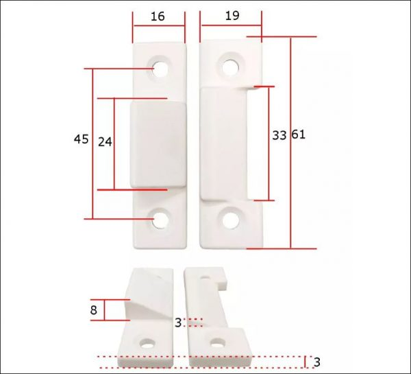 best place to buy Upvc Window Sash Brown Cavity Closing Wedge Draught Sealing wedge in ireland online store diagram