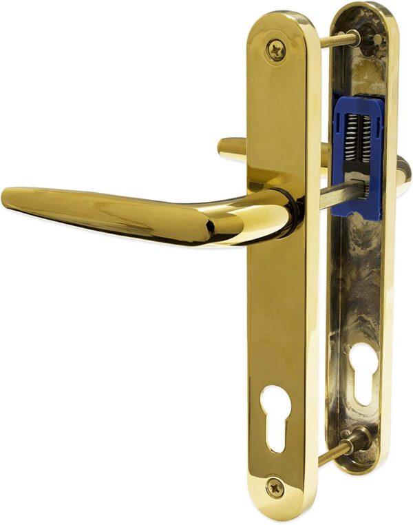 best place to buy, buy door handles near me, door handles, 92 pz door handle, UPVC Door Handle Trojan Sparta 92PZ Sprung Double Glazing door handles white