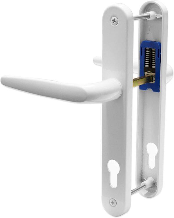 best place to buy, buy door handles near me, door handles, 92 pz door handle, UPVC Door Handle Trojan Sparta 92PZ Sprung Double Glazing