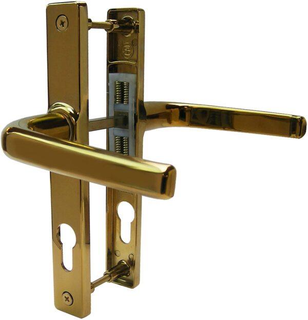 Ireland online store Hoppe Ferco 70PZ Door Handle - Gold - 180mm Centres near me